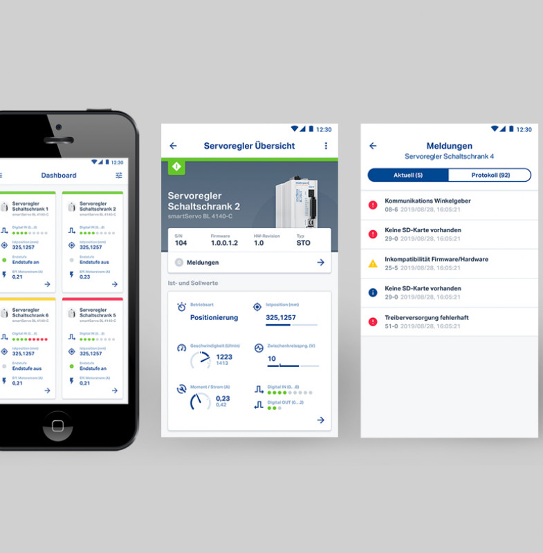 Metronix – Servo App